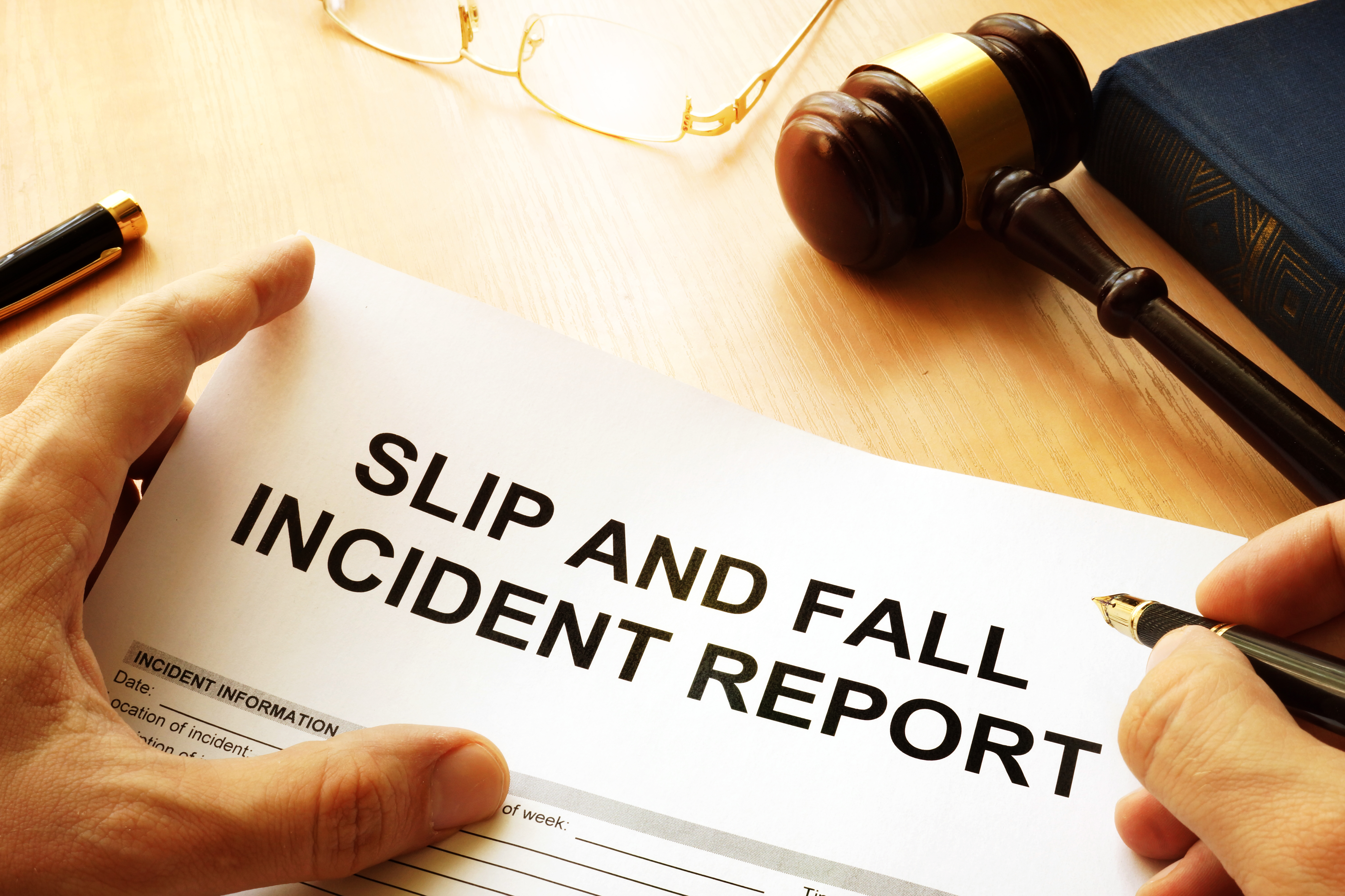 Trip and Fall Attorney NJ